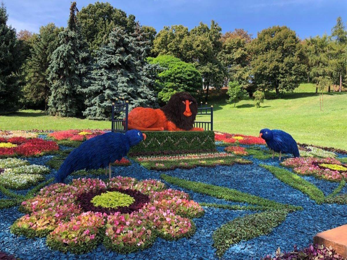 """Выставка цветов """"Во Вселенной Марии Примаченко"""", открылась на Спивочем — фото 1"""