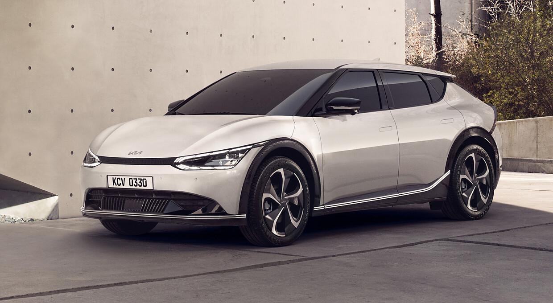 KIA впервые официально показала фото электромобиля EV6: ФОТО — фото 1