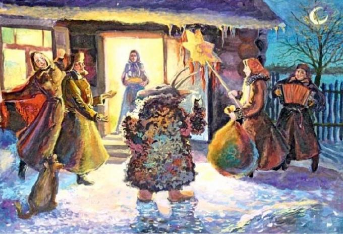 Традиции Старого Нового года: коза и Меланка — фото 1