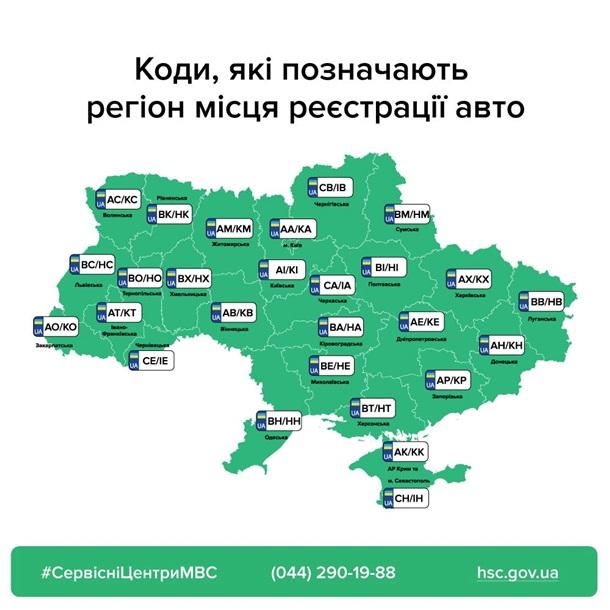 В Украине новые правила выдачи автомобильных номеров: что нужно знать — фото 1