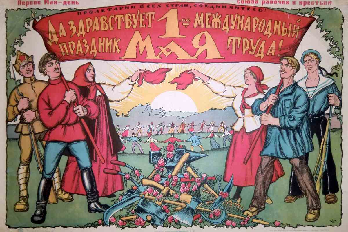 История праздника — 1мая, День международной солидарности трудящихся — фото 2
