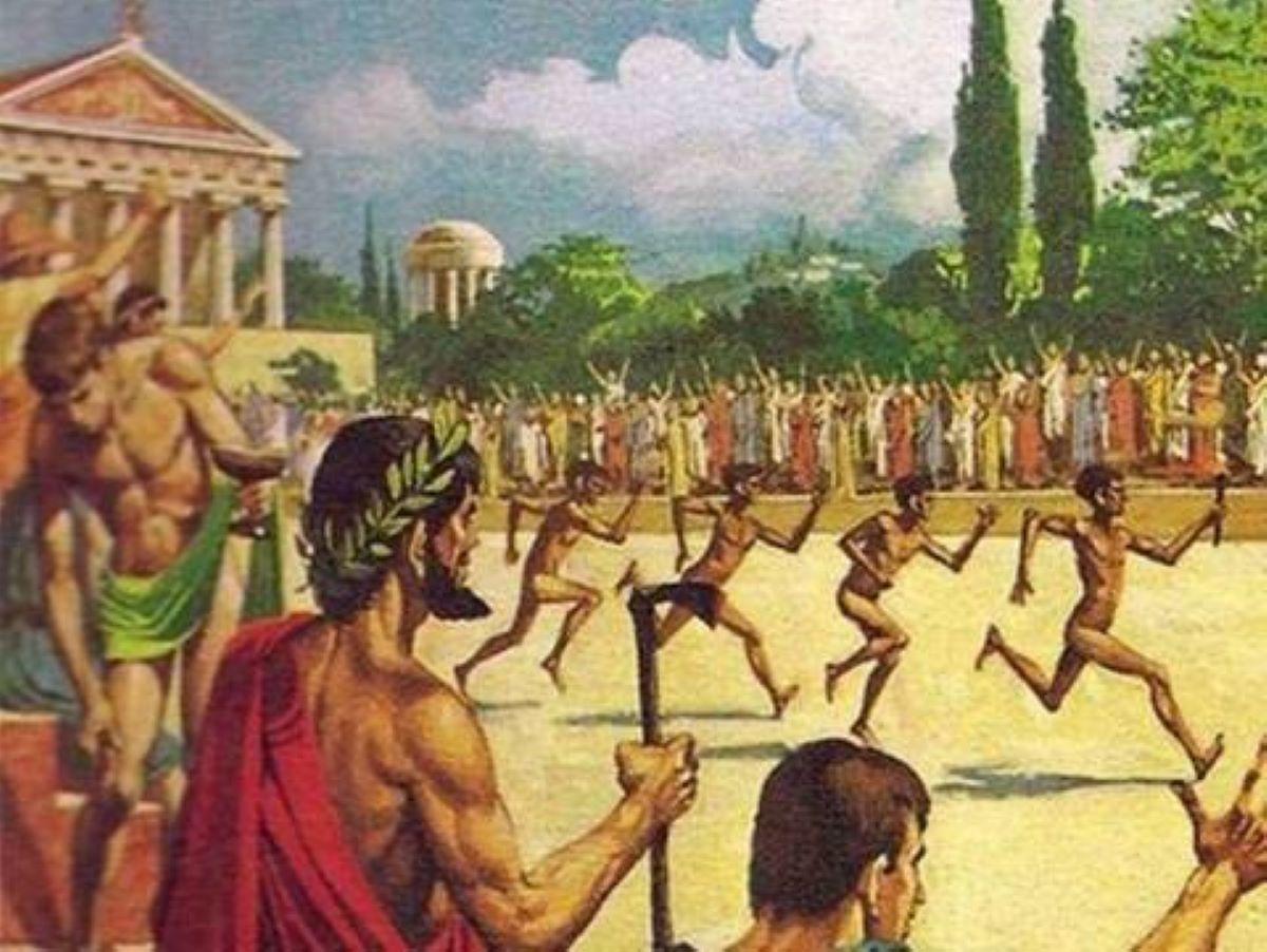 Олимп — мифы и легенды. История возникновения Олимпийских игр — фото 1