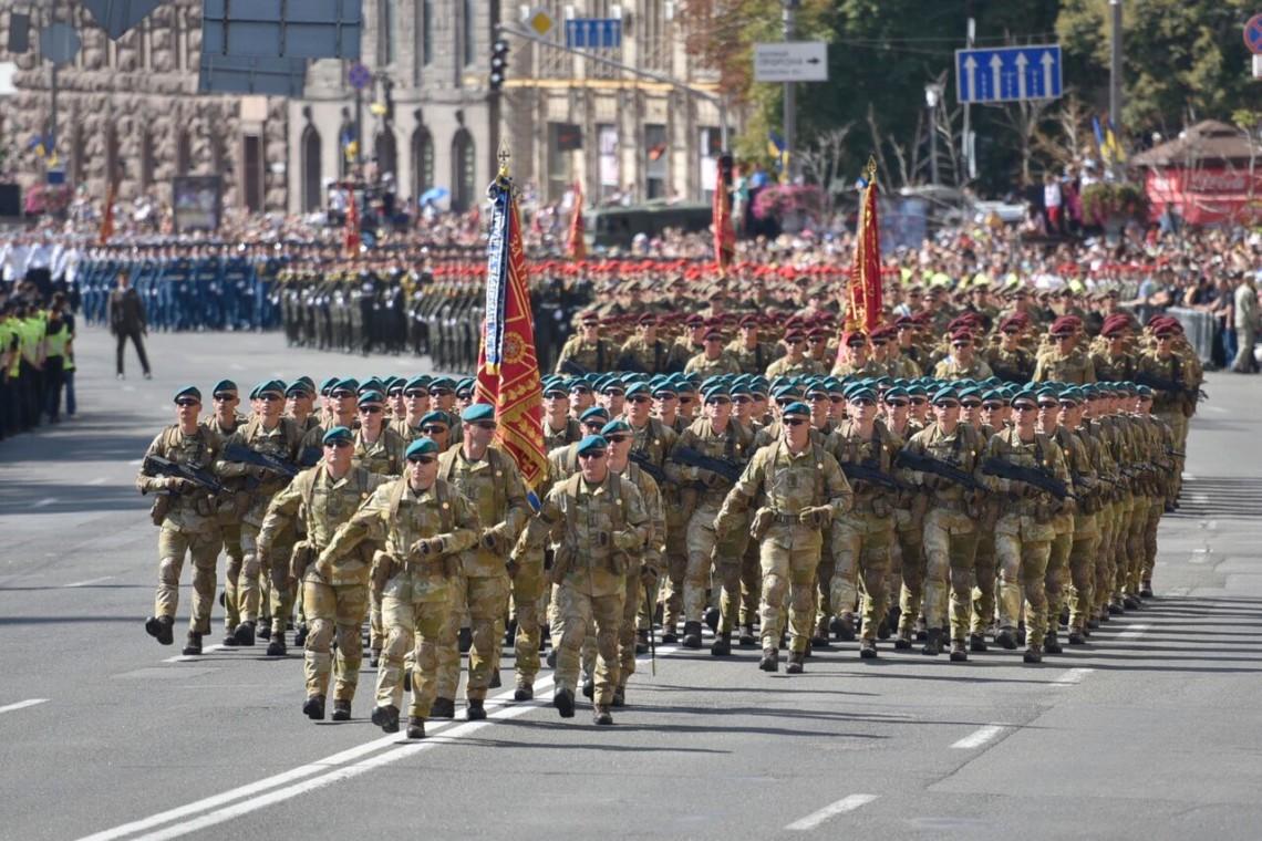 Парад ко Дню независимости Украины: как это было — фото 1