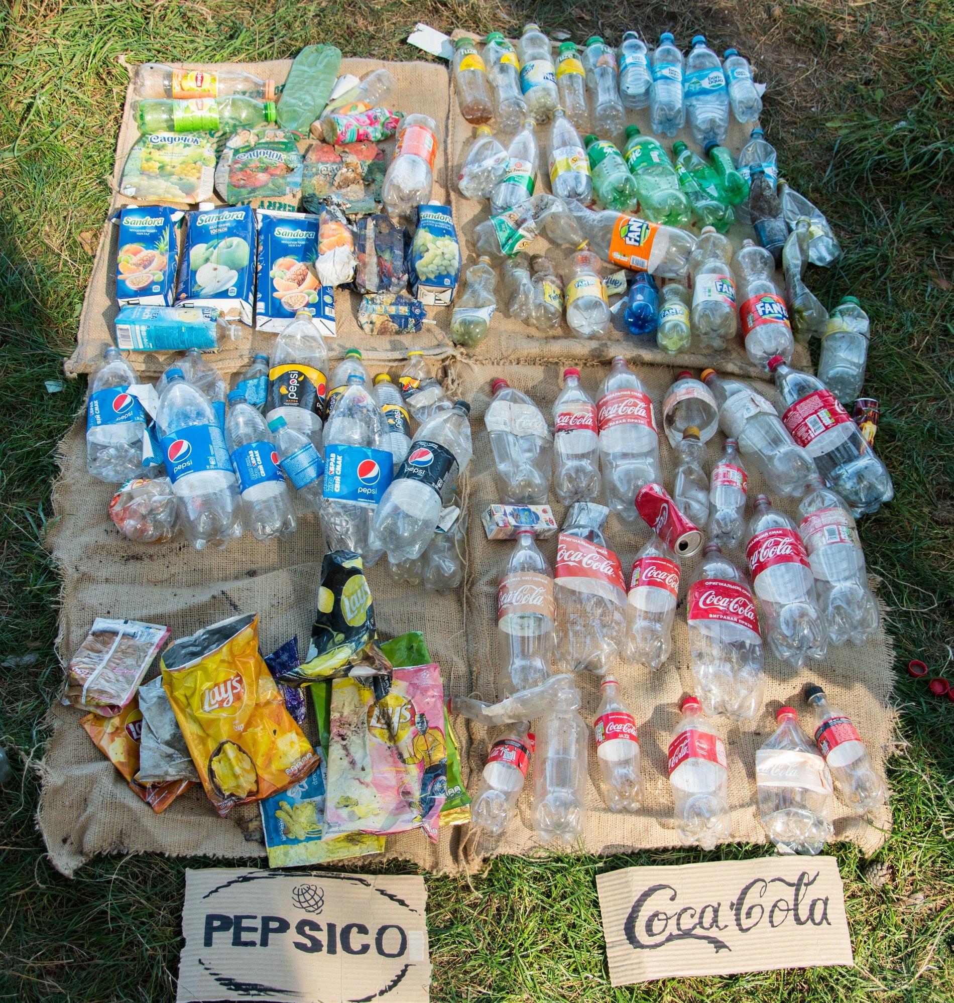Топ-10 брендов, которые загрязняют Украину пластиком — фото 1