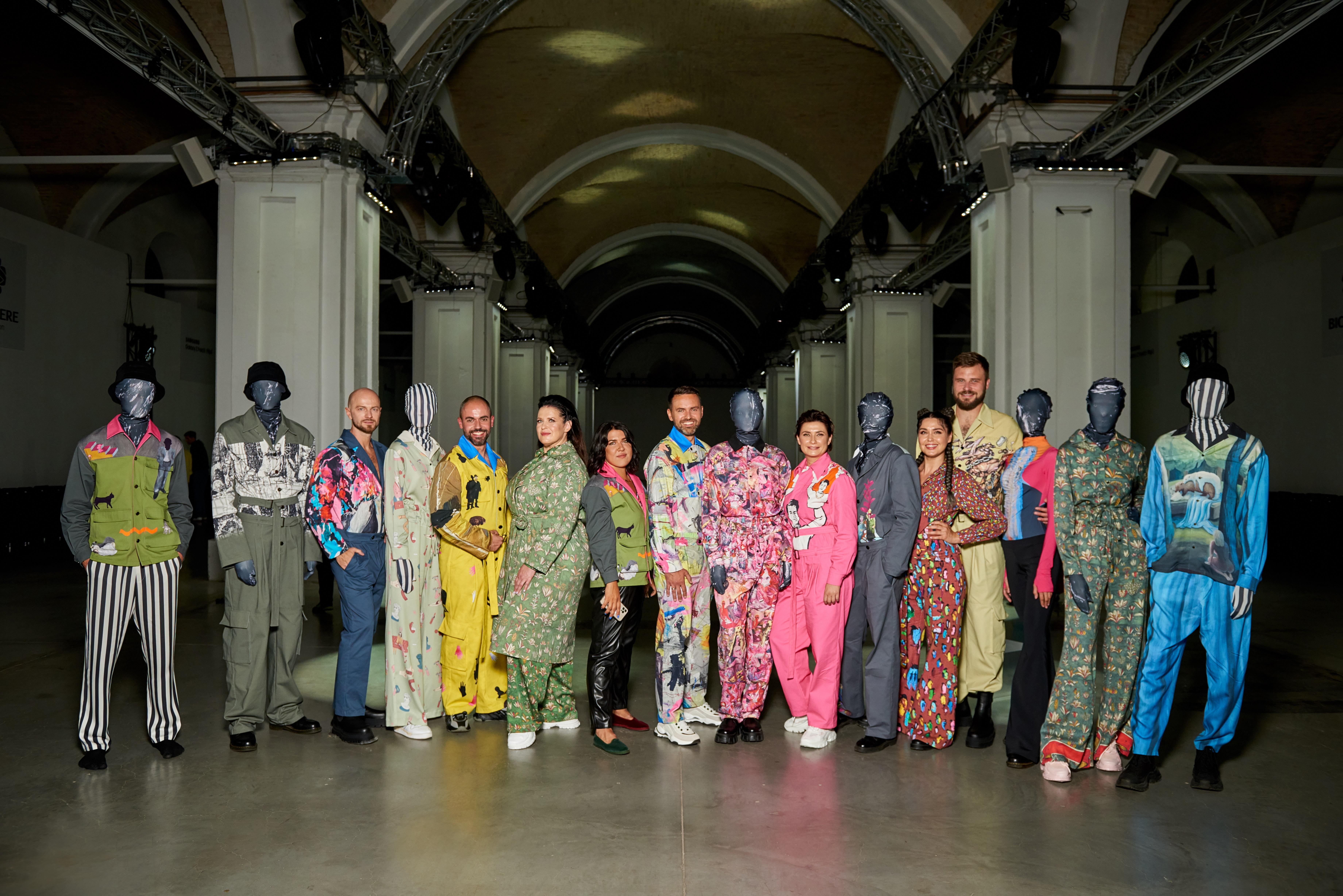 На одежде от OVERALL произведения молодых украинских художников: Твой День в моде и искусстве — фото 1