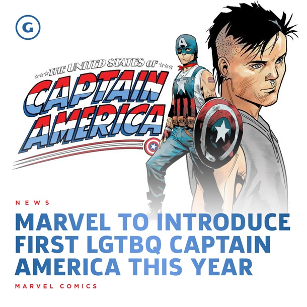 Marvel создала гомосексуального Капитана Америку  — фото 2