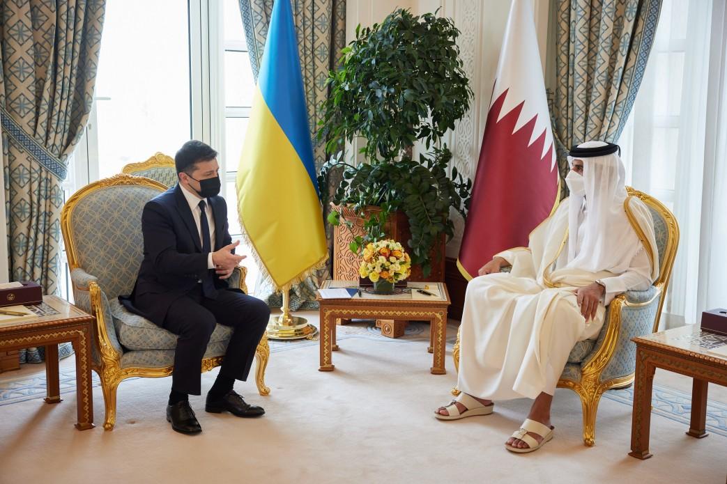 Зеленский в Катаре: итоги визита президента — фото 1