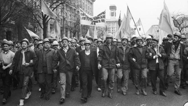 Украина 30: забастовки шахтеров и первый мобильный телефон — фото 2