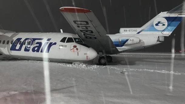В российском аэропорту столкнулись два самолета - ФОТО — фото 2