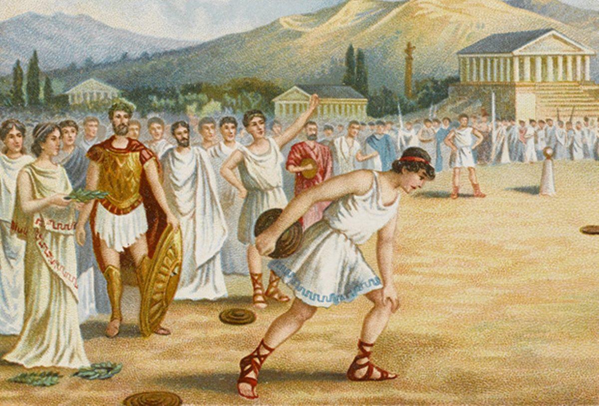 Олимп — мифы и легенды. История возникновения Олимпийских игр — фото 2