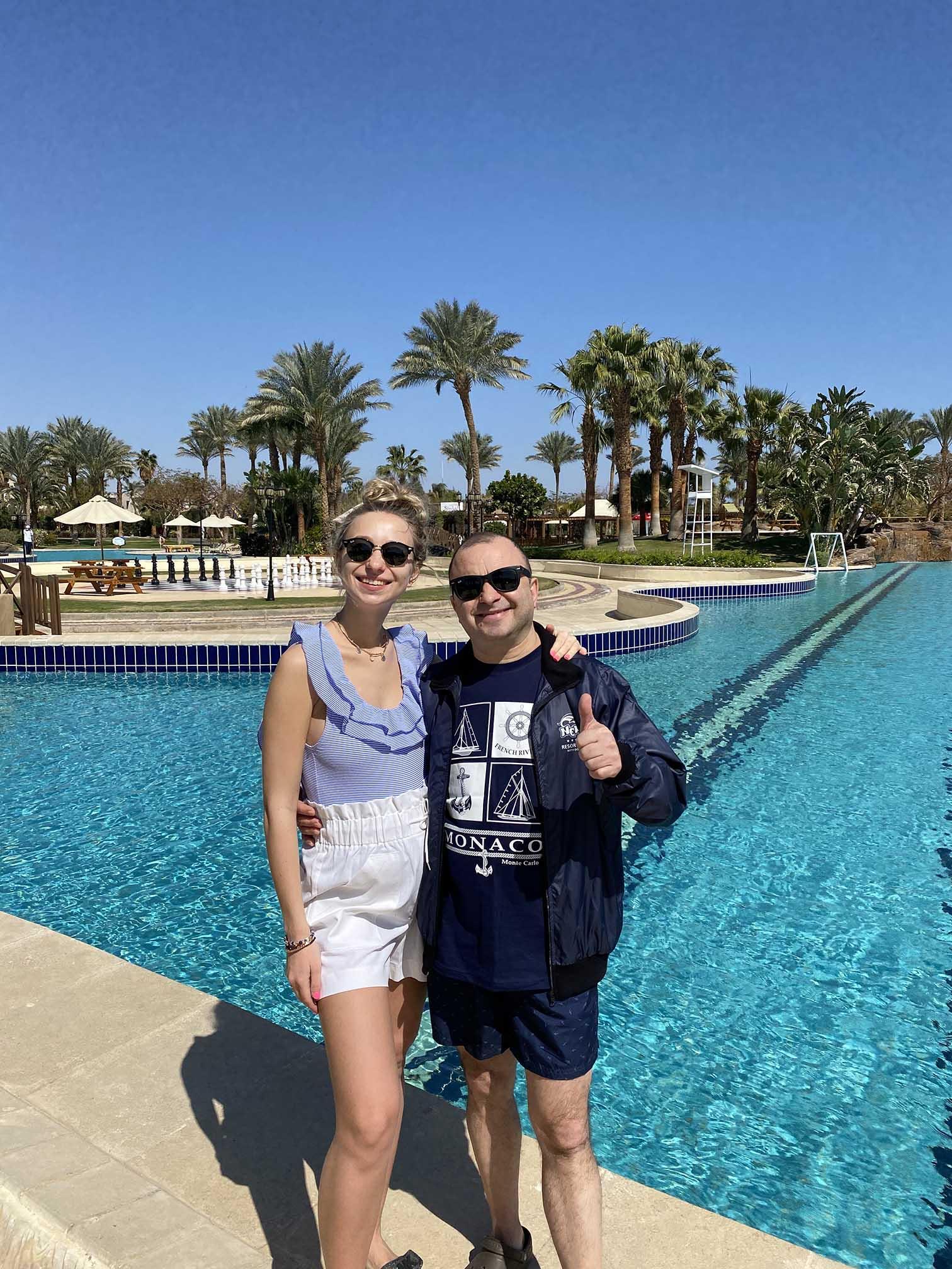 Виктор Павлик с женой Екатериной рассказали про безопасный отдых в Египте (ФОТО) — фото 1