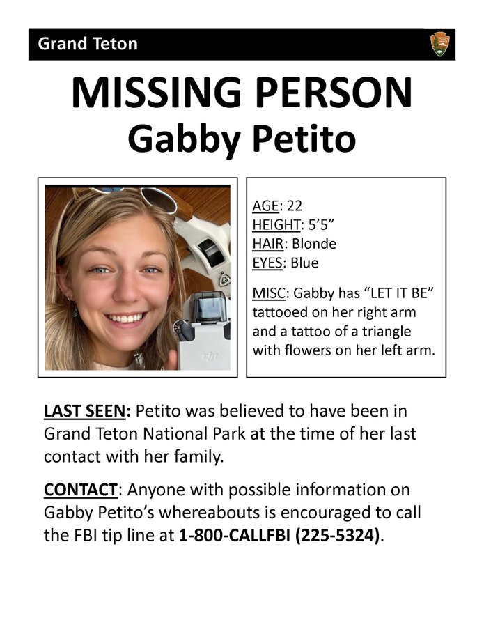Загадочное исчезновение 22-летней Габби Петито из Нью-Йорка — фото 4