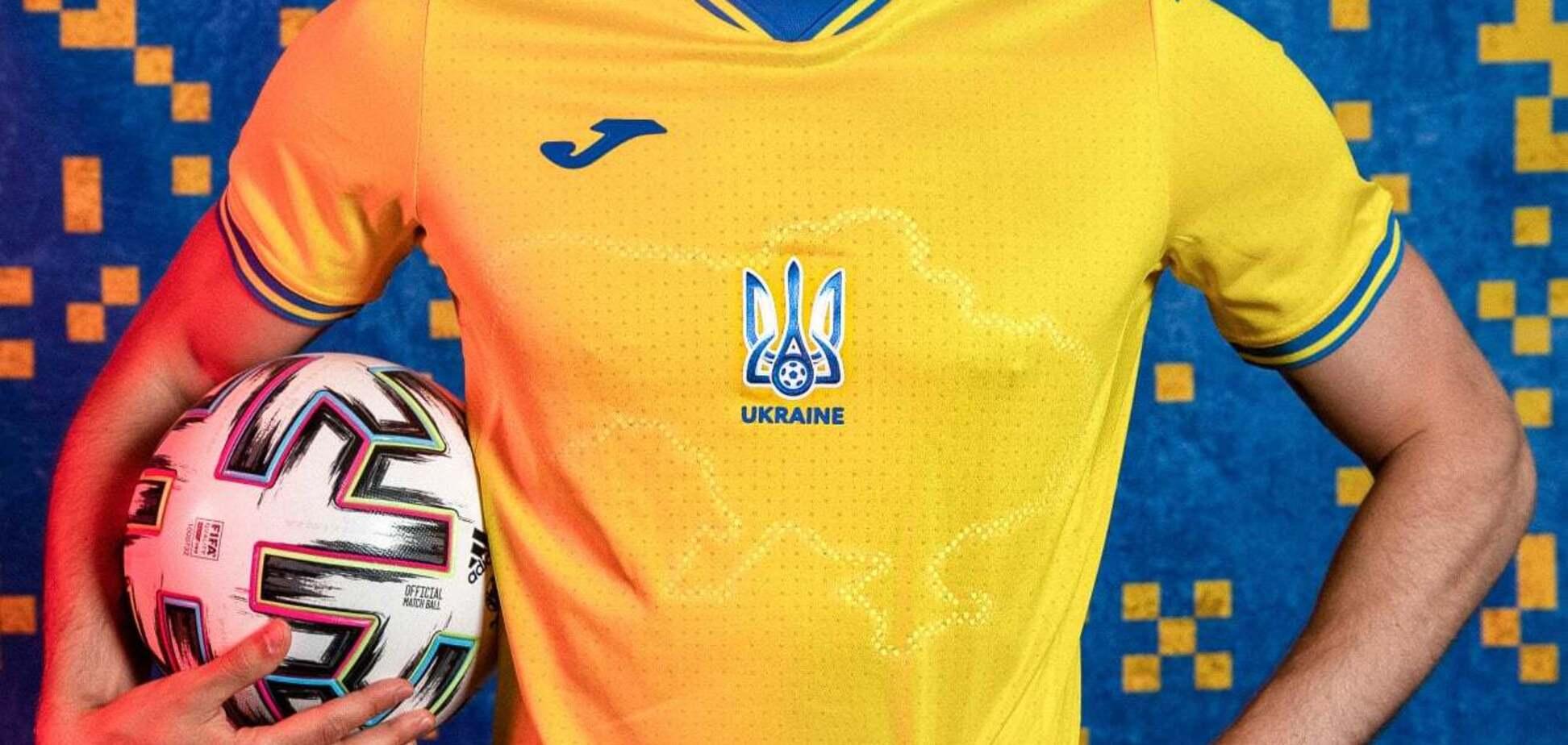 УЕФА приказал убрать с формы сборной Украины лозунг Героям слава  — фото 1